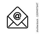 mail icon ui simple style flat...