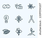 harmony icons line style set... | Shutterstock . vector #1339554107