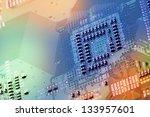 Electronic Circuit Board Close...