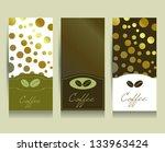 coffe menu card. vector. | Shutterstock .eps vector #133963424