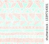 seamless striped pattern.... | Shutterstock .eps vector #1339714301