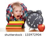 Child Learns The Books  Clock ...