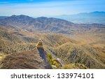 cairn at mountain top   Shutterstock . vector #133974101