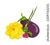 vector illustration of a set of ... | Shutterstock .eps vector #1339763231