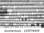 a black and white background of ... | Shutterstock . vector #133978409