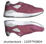 sneakers isolated on white... | Shutterstock . vector #1339793804