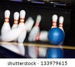 Bowling Ball Hitting Motion...