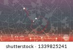 design gps map city milan.... | Shutterstock .eps vector #1339825241