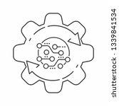 technological development.... | Shutterstock .eps vector #1339841534