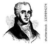 joel barlow 1754 to 1812 he was ...   Shutterstock .eps vector #1339894274