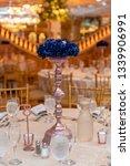 wedding banquet table setting...   Shutterstock . vector #1339906991