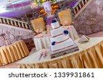 banquet wedding cake    Shutterstock . vector #1339931861