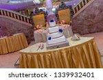 banquet wedding cake    Shutterstock . vector #1339932401