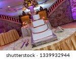banquet wedding cake    Shutterstock . vector #1339932944