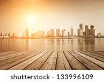 cityscape of modern city | Shutterstock . vector #133996109