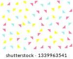 colored geometric pattern...   Shutterstock . vector #1339963541