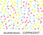 colored geometric pattern... | Shutterstock . vector #1339963547