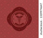 caduceus medical icon inside...   Shutterstock .eps vector #1339974647