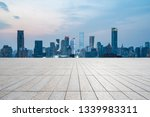 panoramic skyline and modern... | Shutterstock . vector #1339983311