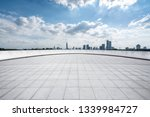 panoramic skyline and modern... | Shutterstock . vector #1339984727