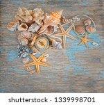 Seashells And Vintage Compass...