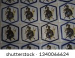 the ceiling and walls of the... | Shutterstock . vector #1340066624
