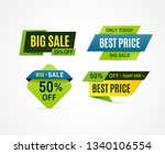 price tag. sale offer banner ... | Shutterstock . vector #1340106554
