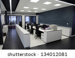modern office interior | Shutterstock . vector #134012081