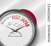 the best time for visit japan.... | Shutterstock . vector #1340204411