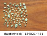 turquoise stones on a... | Shutterstock . vector #1340214461