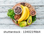 foods containing natural... | Shutterstock . vector #1340219864