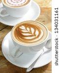 cup of cappuccino | Shutterstock . vector #134031161