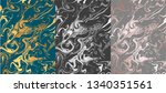 abstract vector background with ... | Shutterstock .eps vector #1340351561