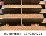 unfinished apartment building | Shutterstock . vector #1340364221
