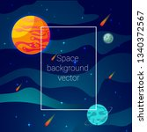 space background  vector...