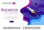 web banner  infographics. start ...