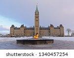 ottawa  canada  ferbruary 16 ... | Shutterstock . vector #1340457254
