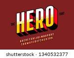 comics style font design ... | Shutterstock .eps vector #1340532377