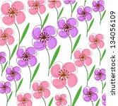 flower | Shutterstock .eps vector #134056109