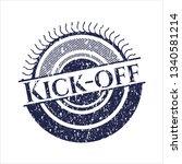 blue kick off rubber texture   Shutterstock .eps vector #1340581214