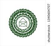 green envelope icon inside...   Shutterstock .eps vector #1340604707