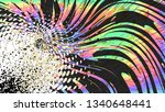 colorful grunge abstract... | Shutterstock .eps vector #1340648441