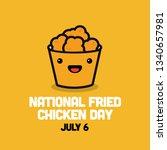 national fried chicken day 6... | Shutterstock .eps vector #1340657981