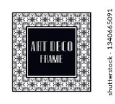 vintage retro ornamental art...   Shutterstock .eps vector #1340665091