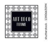 vintage retro ornamental art...   Shutterstock .eps vector #1340665094