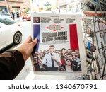 paris  france   mar 15  2019 ... | Shutterstock . vector #1340670791