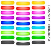 color buttons on white... | Shutterstock .eps vector #134070347