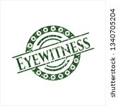green eyewitness distressed...   Shutterstock .eps vector #1340705204
