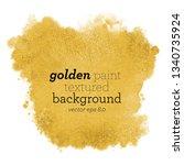 gold stain vector background....   Shutterstock .eps vector #1340735924