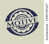 blue motive distress rubber...   Shutterstock .eps vector #1340739107